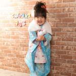 大阪の七五三写真撮影スタジオ・ハニーアンドクランチの3歳女の子和装のフォトギャラリーA095