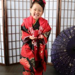 大阪の七五三写真撮影スタジオ・ハニーアンドクランチの3歳女の子和装のフォトギャラリーA096