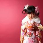 大阪の七五三写真撮影スタジオ・ハニーアンドクランチの3歳女の子和装のフォトギャラリーA109