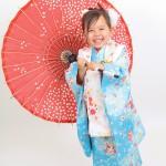大阪の七五三写真撮影スタジオ・ハニーアンドクランチの3歳女の子和装のフォトギャラリーA116