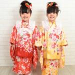 大阪の七五三写真撮影スタジオ・ハニーアンドクランチの3歳女の子和装のフォトギャラリーA121