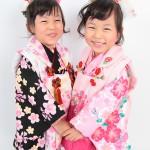 大阪の七五三写真撮影スタジオ・ハニーアンドクランチの3歳女の子和装のフォトギャラリーA124