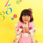 大阪の七五三写真撮影スタジオ・ハニーアンドクランチの3歳女の子和装のフォトギャラリーA128
