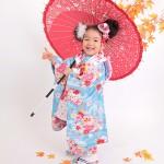 大阪の七五三写真撮影スタジオ・ハニーアンドクランチの3歳女の子和装のフォトギャラリーA131
