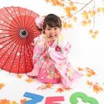 大阪の七五三写真撮影スタジオ・ハニーアンドクランチの3歳女の子和装のフォトギャラリーA134