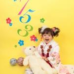 大阪の七五三写真撮影スタジオ・ハニーアンドクランチの3歳女の子和装のフォトギャラリーA136