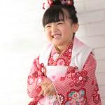 大阪の七五三写真撮影スタジオ・ハニーアンドクランチの3歳女の子和装のフォトギャラリーA137