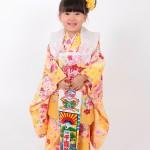 大阪の七五三写真撮影スタジオ・ハニーアンドクランチの3歳女の子和装のフォトギャラリーA139