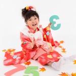大阪の七五三写真撮影スタジオ・ハニーアンドクランチの3歳女の子和装のフォトギャラリーA140