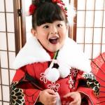 大阪の七五三写真撮影スタジオ・ハニーアンドクランチの3歳女の子和装のフォトギャラリーA144