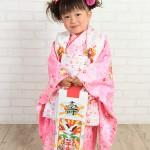 大阪の七五三写真撮影スタジオ・ハニーアンドクランチの3歳女の子和装のフォトギャラリーA146