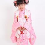 大阪の七五三写真撮影スタジオ・ハニーアンドクランチの3歳女の子和装のフォトギャラリーA155