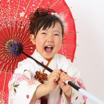 大阪の七五三写真撮影スタジオ・ハニーアンドクランチの3歳女の子和装のフォトギャラリーA157