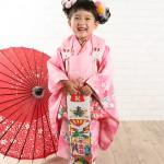 大阪の七五三写真撮影スタジオ・ハニーアンドクランチの3歳女の子和装のフォトギャラリーA162