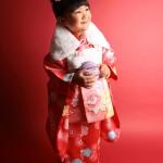 大阪の七五三写真撮影スタジオ・ハニーアンドクランチの3歳女の子和装のフォトギャラリーA163