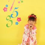 大阪の七五三写真撮影スタジオ・ハニーアンドクランチの3歳女の子和装のフォトギャラリーA167