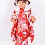 大阪の七五三写真撮影スタジオ・ハニーアンドクランチの3歳女の子和装のフォトギャラリーA168