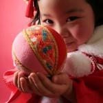 大阪の七五三写真撮影スタジオ・ハニーアンドクランチの3歳女の子和装のフォトギャラリーA172