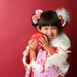大阪の七五三写真撮影スタジオ・ハニーアンドクランチの3歳女の子和装のフォトギャラリーA177