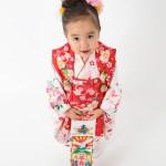 大阪の七五三写真撮影スタジオ・ハニーアンドクランチの3歳女の子和装のフォトギャラリーA181