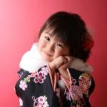 大阪の七五三写真撮影スタジオ・ハニーアンドクランチの3歳女の子和装のフォトギャラリーA183