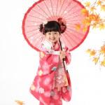 大阪の七五三写真撮影スタジオ・ハニーアンドクランチの3歳女の子和装のフォトギャラリーA185