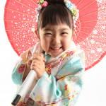大阪の七五三写真撮影スタジオ・ハニーアンドクランチの3歳女の子和装のフォトギャラリーA188
