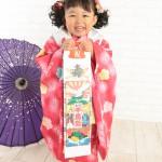 大阪の七五三写真撮影スタジオ・ハニーアンドクランチの3歳女の子和装のフォトギャラリーA192