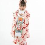 大阪の七五三写真撮影スタジオ・ハニーアンドクランチの3歳女の子和装のフォトギャラリーA193