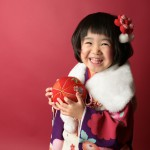 大阪の七五三写真撮影スタジオ・ハニーアンドクランチの3歳女の子和装のフォトギャラリーA195