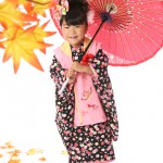 大阪の七五三写真撮影スタジオ・ハニーアンドクランチの3歳女の子和装のフォトギャラリーA198