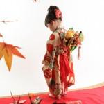大阪の七五三写真撮影スタジオ・ハニーアンドクランチの3歳女の子和装のフォトギャラリーA215
