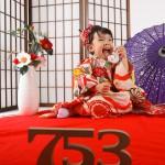 大阪の七五三写真撮影スタジオ・ハニーアンドクランチの3歳女の子和装のフォトギャラリーA216