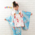 大阪の七五三写真撮影スタジオ・ハニーアンドクランチの3歳女の子和装のフォトギャラリーA217