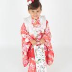 大阪の七五三写真撮影スタジオ・ハニーアンドクランチの3歳女の子和装のフォトギャラリーA220