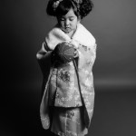 大阪の七五三写真撮影スタジオ・ハニーアンドクランチの3歳女の子和装のフォトギャラリーA221