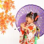 大阪の七五三写真撮影スタジオ・ハニーアンドクランチの3歳女の子和装のフォトギャラリーA222
