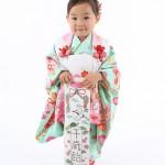 大阪の七五三写真撮影スタジオ・ハニーアンドクランチの3歳女の子和装のフォトギャラリーA229