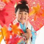 大阪の七五三写真撮影スタジオ・ハニーアンドクランチの3歳女の子和装のフォトギャラリーA230