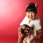 大阪の七五三写真撮影スタジオ・ハニーアンドクランチの3歳女の子和装のフォトギャラリーA231