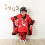 大阪の七五三写真撮影スタジオ・ハニーアンドクランチの3歳女の子和装のフォトギャラリーA232