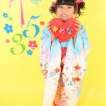 大阪の七五三写真撮影スタジオ・ハニーアンドクランチの7歳女の子和装のフォトギャラリーB001