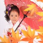 大阪の七五三写真撮影スタジオ・ハニーアンドクランチの7歳女の子和装のフォトギャラリーB004