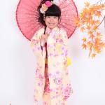 大阪の七五三写真撮影スタジオ・ハニーアンドクランチの7歳女の子和装のフォトギャラリーB005