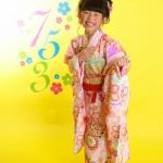 大阪の七五三写真撮影スタジオ・ハニーアンドクランチの7歳女の子和装のフォトギャラリーB010