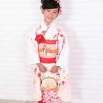 大阪の七五三写真撮影スタジオ・ハニーアンドクランチの7歳女の子和装のフォトギャラリーB011