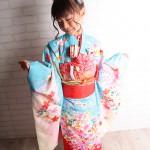 大阪の七五三写真撮影スタジオ・ハニーアンドクランチの7歳女の子和装のフォトギャラリーB012