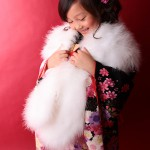 大阪の七五三写真撮影スタジオ・ハニーアンドクランチの7歳女の子和装のフォトギャラリーB013