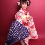 大阪の七五三写真撮影スタジオ・ハニーアンドクランチの7歳女の子和装のフォトギャラリーB014