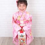 大阪の七五三写真撮影スタジオ・ハニーアンドクランチの7歳女の子和装のフォトギャラリーB016